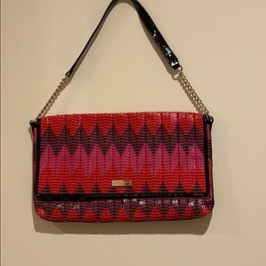 Kate Spade- Woven shoulder Bag- with Duster